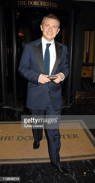 Martin Freeman during The British Academy Television Craft Awards Departures April 22 2007 at The Dorchester in London Great Britain