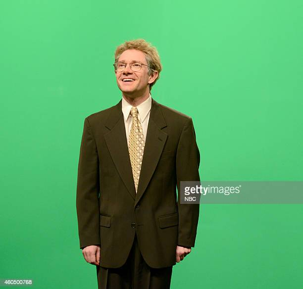 LIVE 'Martin Freeman' Episode 1671 Pictured Martin Freeman as Dom McWebber during the 'Waterbed Commercial' skit on December 13 2014