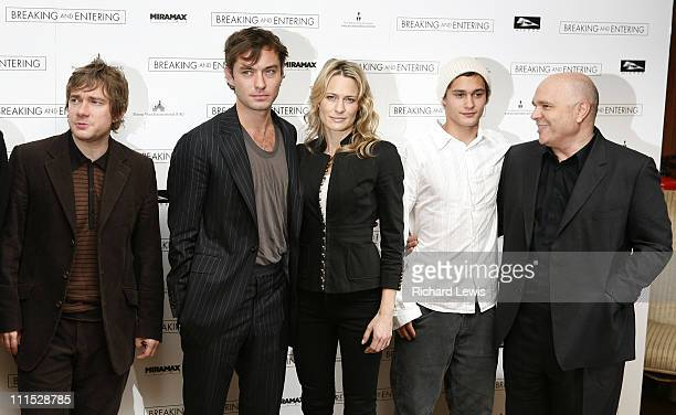 Martin Freeman Jude Law Robin Wright Penn Rafi Gavron and Anthony Minghella