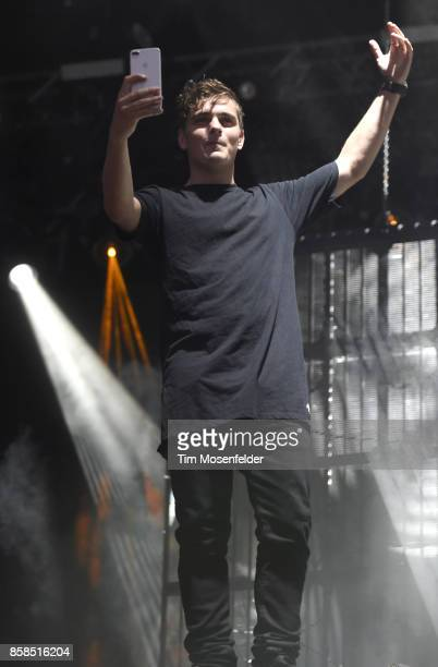 Martin Garrix performs during the ACL Music Festival 2017 at Zilker Park on October 6 2017 in Austin Texas