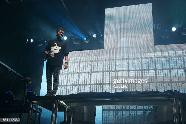 Martin Garrix performs in concert during the second week of Austin City Limits Music Festival at Zilker Park on October 13 2017 in Austin Texas
