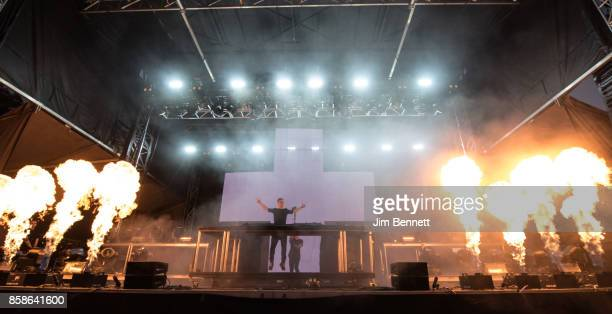 Martin Garrix performs live on stgae during Austin City Limits Festival at Zilker Park on October 6 2017 in Austin TX
