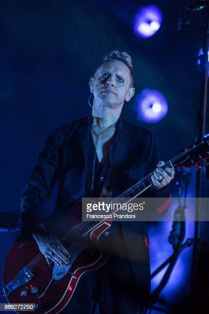 Martin Gore of Depeche Mode perform at Pala Alpitouron stage on December 9 2017 in Turin Italy