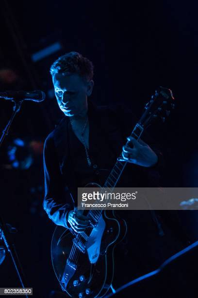 Martin Gore of Depeche Mode performs at San Siro Stadium on June 27 2017 in Milan Italy