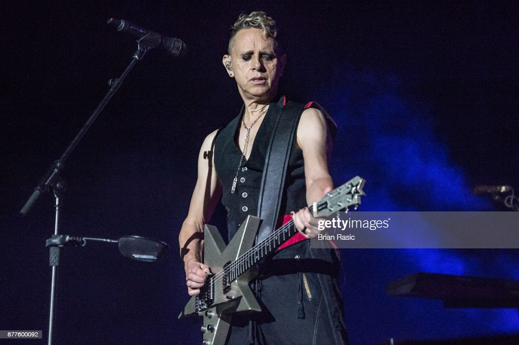 Depeche Mode Perform At The O2 Arena