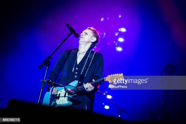 Martin Gore of the english electronic band Depeche Mode performing live at Pala Alpitour Italy in Turin Italy on 9 December 2017