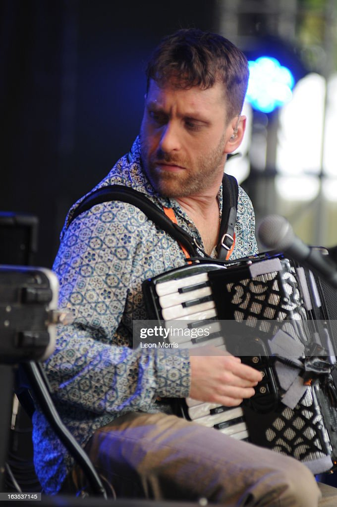 Martin Green from the Band Lau, performs on stage at Womadelaide 2013 at Botanic Park on March 9, 2013 in Adelaide, Australia.