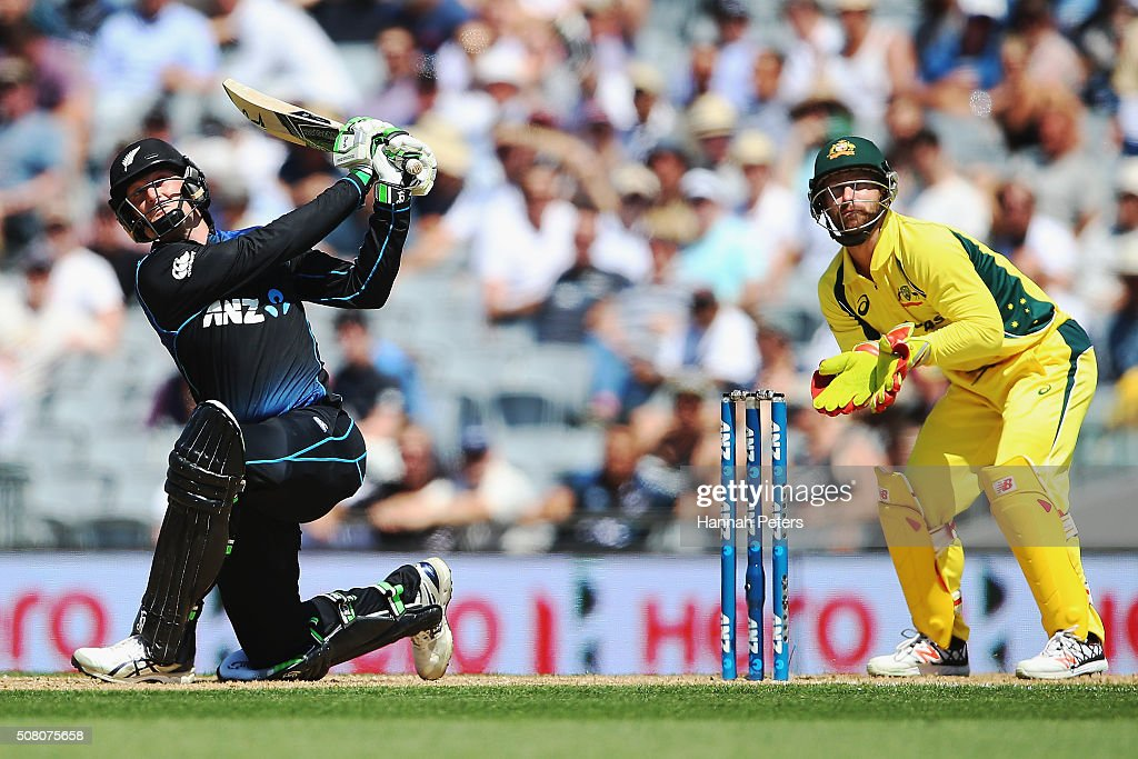 New Zealand v Australia - 1st ODI