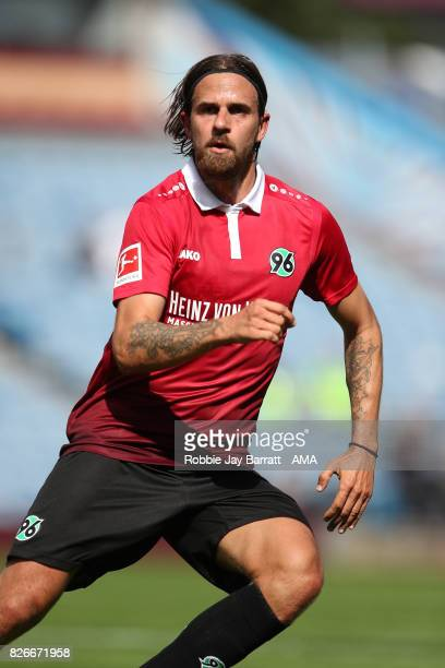 Martin Harnik of Hannover 96 during the PreSeason Friendly between Burnley and Hannover 96 at Turf Moor on August 5 2017 in Burnley England