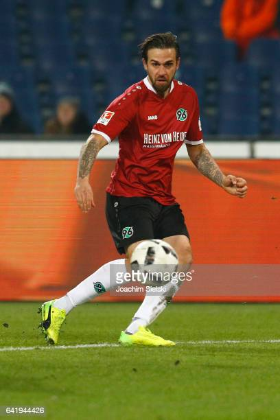 Martin Harnik of Hannover during the Second Bundesliga match between Hannover 96 and VfL Bochum 1848 at HDIArena on February 13 2017 in Hanover...