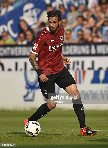 Martin Harnik of Hannover in aktion during the Bundesliga match between VfL Bochum and Hannover 96 at Rewirpower Stadium on August 26 2016 in Bochum...