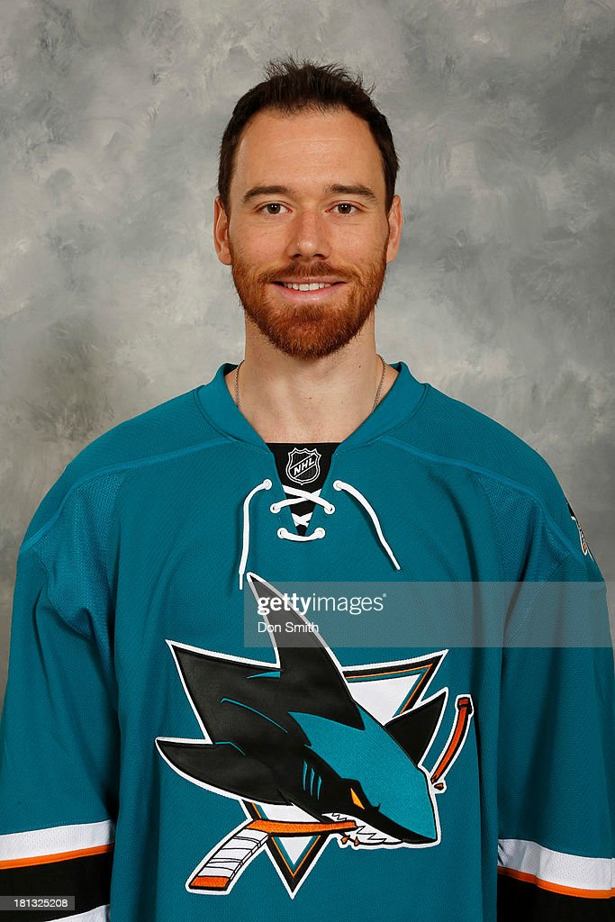 <a gi-track='captionPersonalityLinkClicked' href=/galleries/search?phrase=Martin+Havlat&family=editorial&specificpeople=202654 ng-click='$event.stopPropagation()'>Martin Havlat</a> of the San Jose Sharks poses for his official headshot for the 2013-14 season on September 11, 2013 at SAP Center in San Jose, California.