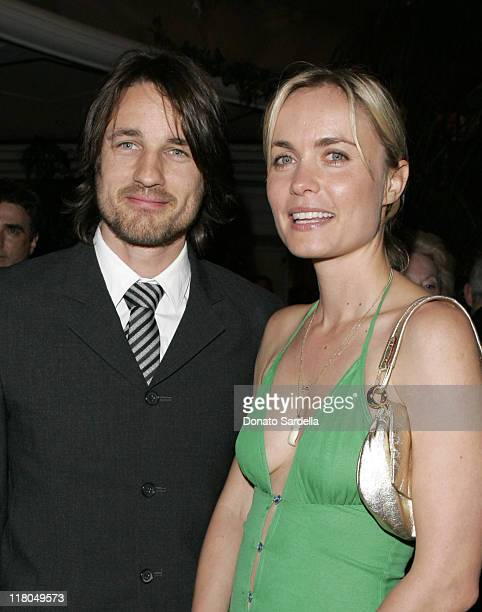 Martin Henderson and Radha Mitchell during 5th Annual Oscar Celebration of New Zealand Filmmaking at Beverly Hills Hotel in Beverly Hills California...