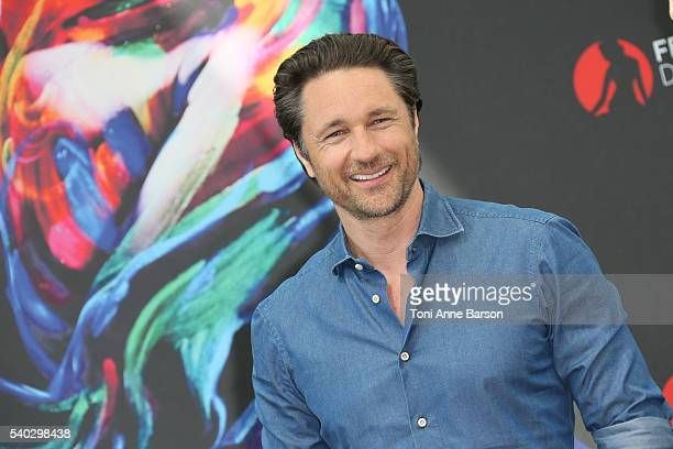 Martin Henderson attends 'Grey's Anatomy' Photocall as part of the 56th Monte Carlo Tv Festival at the Grimaldi Forum on June 14 2016 in MonteCarlo...