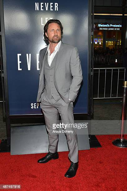 Martin Henderson attends the premiere of Universal Pictures' 'Everest' at TCL Chinese 6 Theatres on September 9 2015 in Hollywood California