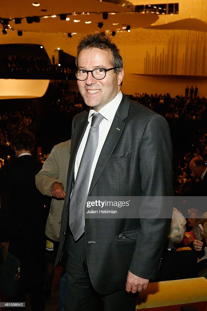 <a gi-track='captionPersonalityLinkClicked' href=/galleries/search?phrase=Martin+Hirsch&family=editorial&specificpeople=2273261 ng-click='$event.stopPropagation()'>Martin Hirsch</a> attends the Philharmonie De Paris Symphonic Concert Hall opening party on January 14, 2015 in Paris, France.