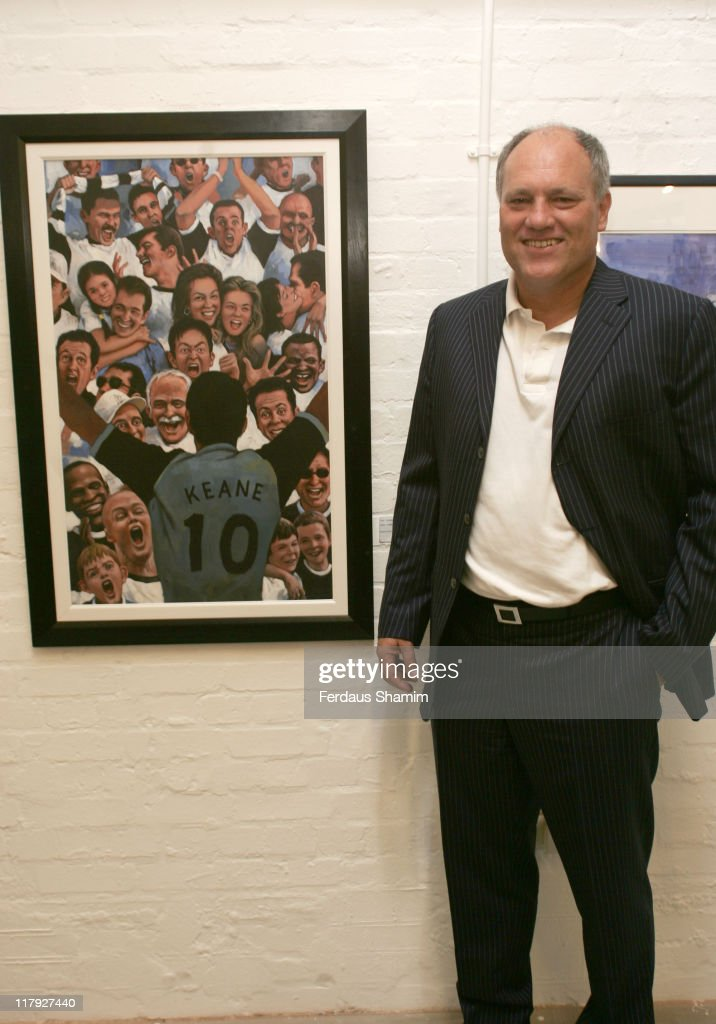 <a gi-track='captionPersonalityLinkClicked' href=/galleries/search?phrase=Martin+Jol&family=editorial&specificpeople=215368 ng-click='$event.stopPropagation()'>Martin Jol</a> during Kith and Kids Canvassing Spurs Charity Auction at Old Truman Brewery in London, Great Britain.
