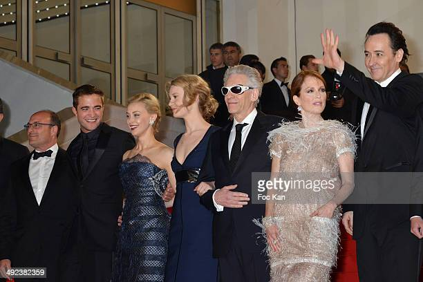 Martin Katz Sarah Gadon Mia Wasikowska David Cronenberg Julianne Moore and John Cusack attend the'Maps To The Stars' premiere during the 67th Annual...