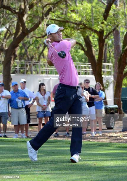 Martin Kaymer during the second round of the PGA FedExCup RBC Heritage golf tournament on April 14 2017 at Harbour Town Golf Links in Hilton Head...