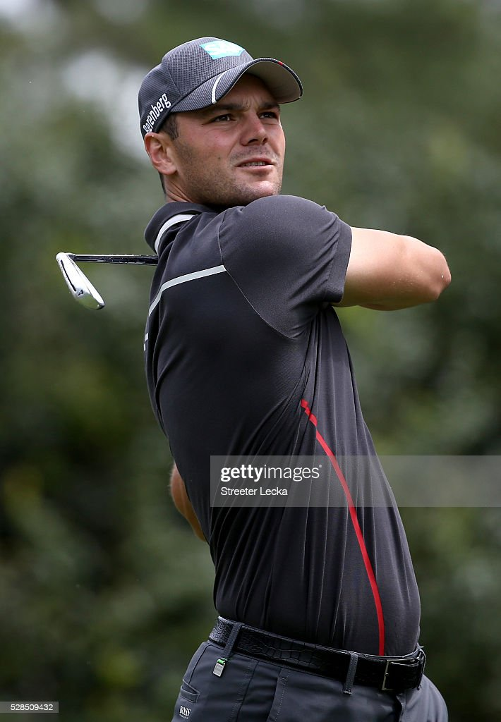<a gi-track='captionPersonalityLinkClicked' href=/galleries/search?phrase=Martin+Kaymer&family=editorial&specificpeople=2143733 ng-click='$event.stopPropagation()'>Martin Kaymer</a> hits a shot on the sixth hole during the first round of the 2016 Wells Fargo Championship at Quail Hollow Club on May 5, 2016 in Charlotte, North Carolina.