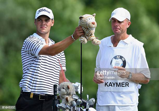 Martin Kaymer of Germany and caddie Justin Hoyte during the second round of The BMW International Open Golf at The Munich North Eichenried Golf Club...