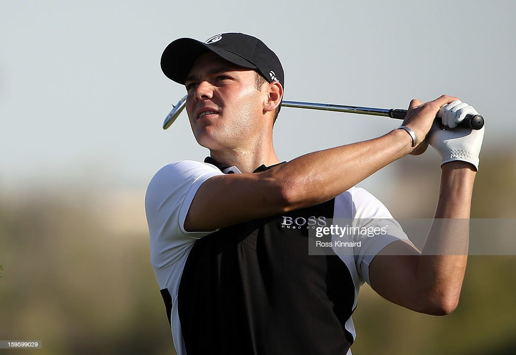Martin Kaymer of Germany during the first round of the Abu Dhabi HSBC Golf Championship at the Abu Dhabi Golf Club on January 17, 2013 in Abu Dhabi, United Arab Emirates.