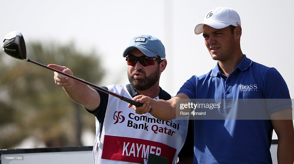 Martin Kaymer of Germany during the pro-am event prior to the Commercial Bank Qatar Masters at The Doha Golf Club on January 22, 2013 in Doha, Qatar.