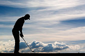 Martin Kaymer of Germany gets ready before he hits his second shot on the 14th hole during Day 1 of the KLM Open held at Kennemer G CC on September...
