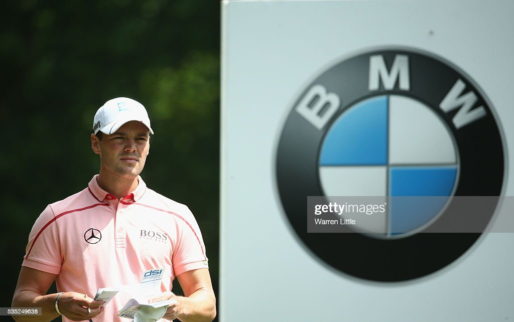 <a gi-track='captionPersonalityLinkClicked' href=/galleries/search?phrase=Martin+Kaymer&family=editorial&specificpeople=2143733 ng-click='$event.stopPropagation()'>Martin Kaymer</a> of Germany looks down the 3rd hole during day four of the BMW PGA Championship at Wentworth on May 29, 2016 in Virginia Water, England.