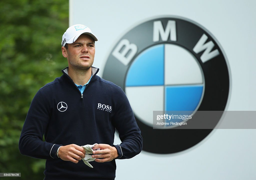 <a gi-track='captionPersonalityLinkClicked' href=/galleries/search?phrase=Martin+Kaymer&family=editorial&specificpeople=2143733 ng-click='$event.stopPropagation()'>Martin Kaymer</a> of Germany looks down the 5th hole during day one of the BMW PGA Championship at Wentworth on May 26, 2016 in Virginia Water, England.
