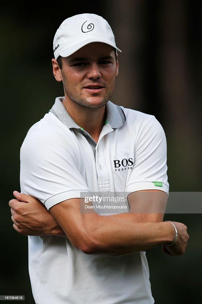 <a gi-track='captionPersonalityLinkClicked' href=/galleries/search?phrase=Martin+Kaymer&family=editorial&specificpeople=2143733 ng-click='$event.stopPropagation()'>Martin Kaymer</a> of Germany looks on after he putts on the 2nd green during the pro-am as a preview for the Turkish Airlines Open at Montgomerie Maxx Royal Course on November 6, 2013 in Antalya, Turkey.