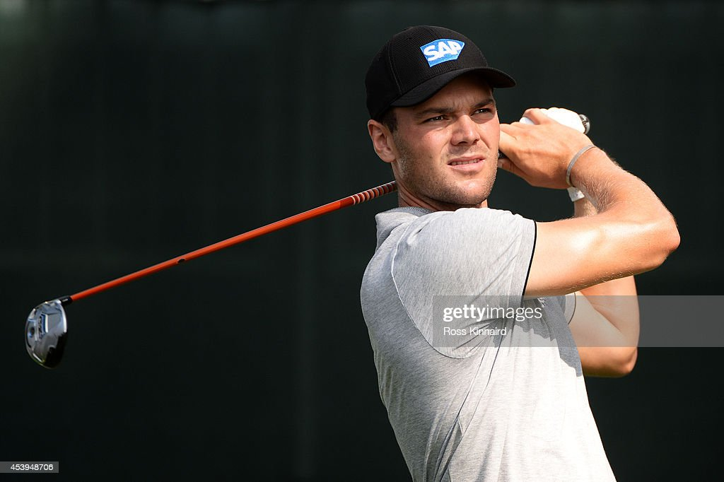 <a gi-track='captionPersonalityLinkClicked' href=/galleries/search?phrase=Martin+Kaymer&family=editorial&specificpeople=2143733 ng-click='$event.stopPropagation()'>Martin Kaymer</a> of Germany plays his shot from the first tee during the first round of The Barclays at The Ridgewood Country Club on August 21, 2014 in Paramus, New Jersey.