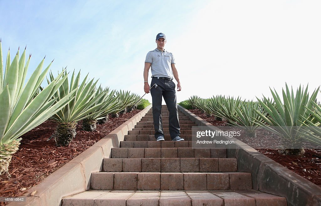 Martin Kaymer of Germany poses for a photograph during the Pro Am prior to the start of the Abu Dhabi HSBC Golf Championship at the Abu Dhabi Golf Cub on January 14, 2015 in Abu Dhabi, United Arab Emirates.