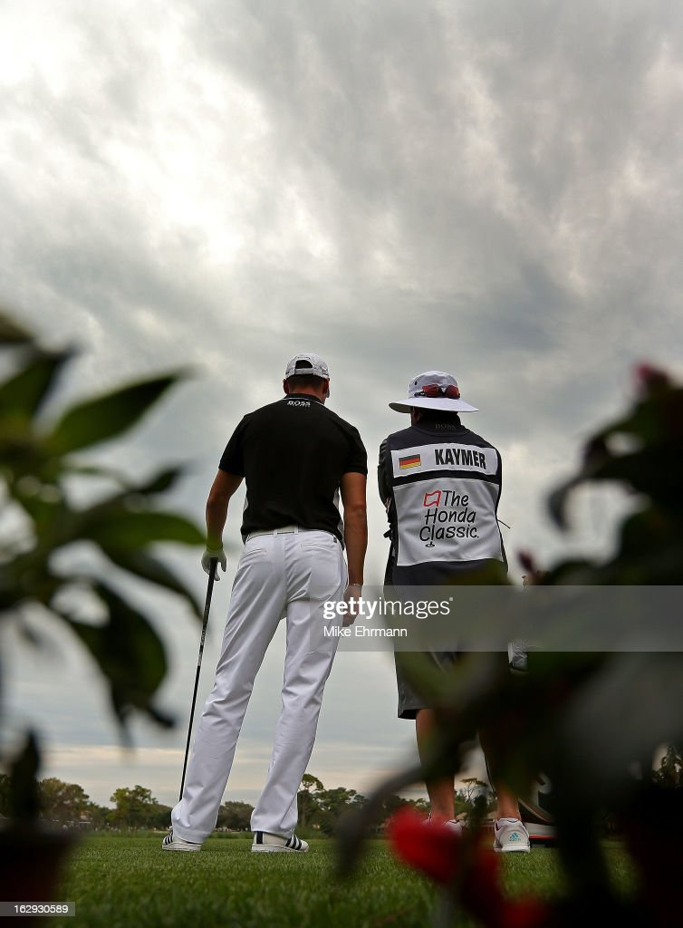 Martin Kaymer of Germany waits to hit his tee shot on the 15th hole during the second round of the Honda Classic at PGA National Resort and Spa on March 1, 2013 in Palm Beach Gardens, Florida.