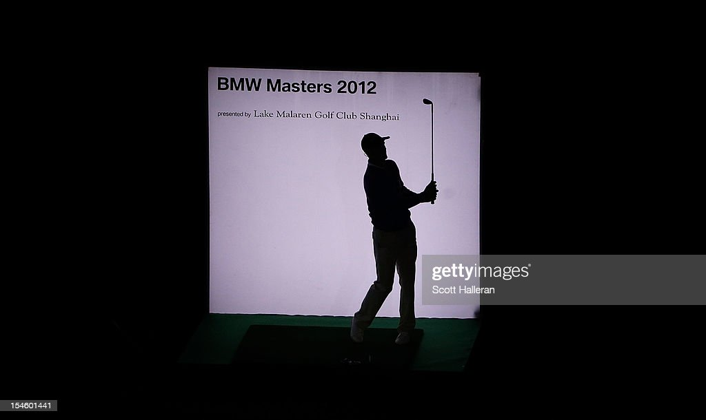 <a gi-track='captionPersonalityLinkClicked' href=/galleries/search?phrase=Martin+Kaymer&family=editorial&specificpeople=2143733 ng-click='$event.stopPropagation()'>Martin Kaymer</a> of Germany watches a shot during the opening night gala prior to the start of the BMW Masters at the Lake Malaren Golf Club on October 23, 2012 in Shanghai, China.