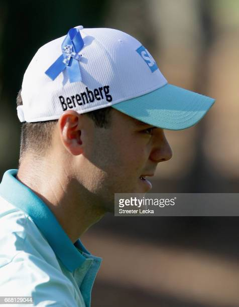 Martin Kaymer of Germany watches on at the 14th hole during the first round of the 2017 RBC Heritage at Harbour Town Golf Links on April 13 2017 in...