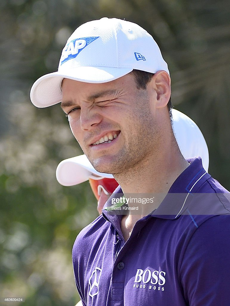 <a gi-track='captionPersonalityLinkClicked' href=/galleries/search?phrase=Martin+Kaymer&family=editorial&specificpeople=2143733 ng-click='$event.stopPropagation()'>Martin Kaymer</a> of Germany winks at the camera during the final round of the Omega Dubai Desert Classic at the Emirates Golf Club on February 1, 2015 in Dubai, United Arab Emirates.