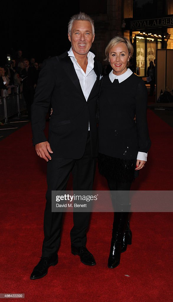 <a gi-track='captionPersonalityLinkClicked' href=/galleries/search?phrase=Martin+Kemp&family=editorial&specificpeople=213385 ng-click='$event.stopPropagation()'>Martin Kemp</a> and Shirley Kemp attend the World Premiere of 'Soul Boys Of The Western World' at Royal Albert Hall on September 30, 2014 in London, England.