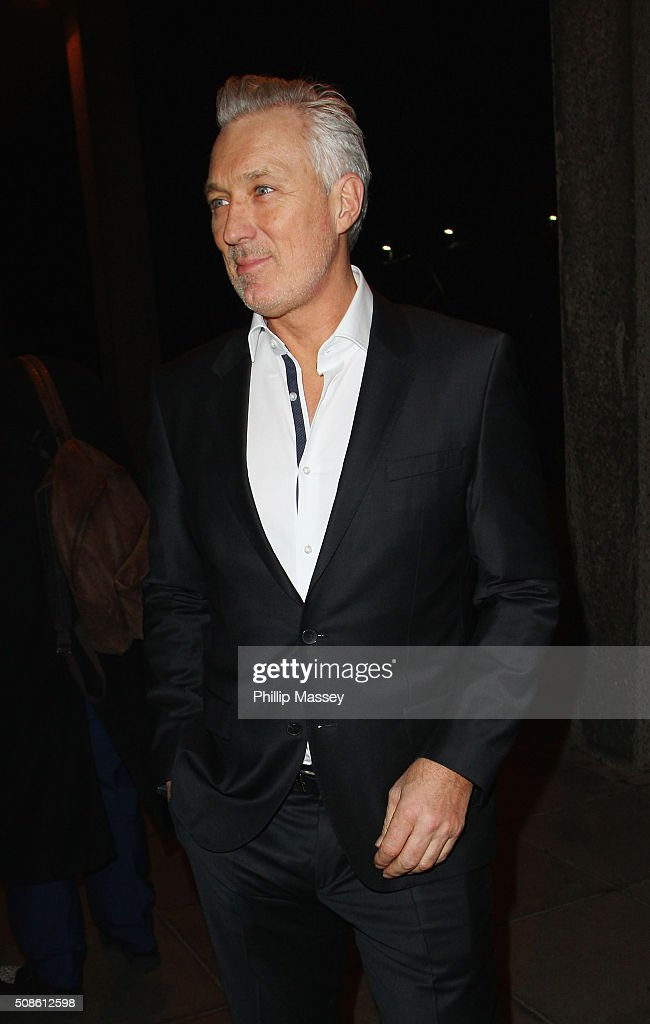 Martin Kemp attends the Late Late Show on February 5, 2016 in Dublin, Ireland.