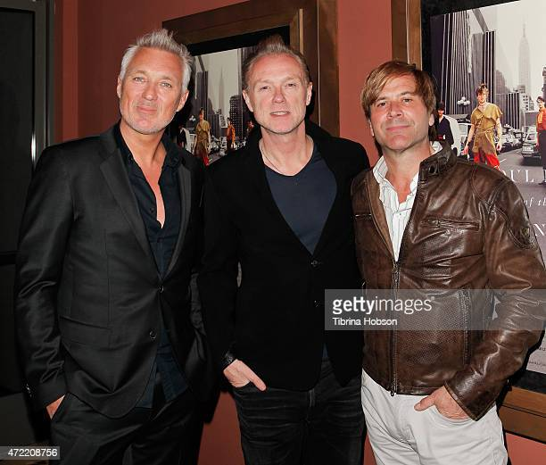 Martin Kemp Gary Kemp and Steve Norman of Spandau Ballet attend the premiere of 'Soul Boys of the Western World Spandau Ballet' at Sundance Cinema on...