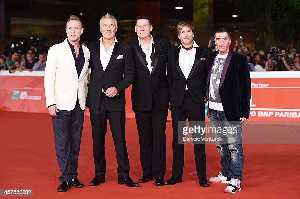Martin Kemp Gary Kemp Tony Hadley Steve Norman and John Keeble attends 'Soul Boys of the Western World' Red Carpet during the 9th Rome Film Festival...