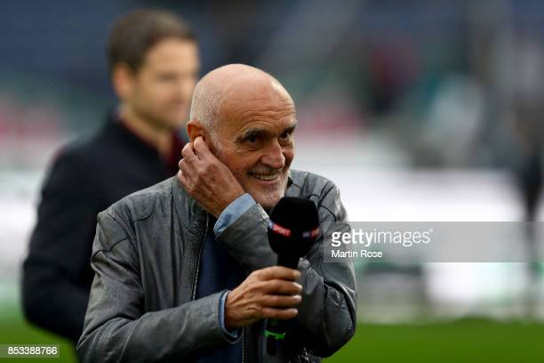 Martin Kind president of Hannover looks on before the Bundesliga match between Hannover 96 and 1 FC Koeln at HDIArena on September 24 2017 in Hanover...