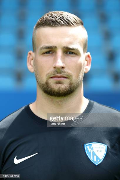 Martin Kompalla of VfL Bochum poses during the team presentation at Vonovia Ruhrstadion on July 11 2017 in Bochum Germany