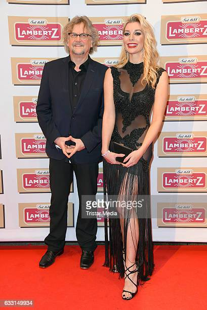 Martin Krug and Annika Gassner attend the 'Lambertz Monday Schoko Night 2017' on January 30 2017 in Cologne Germany
