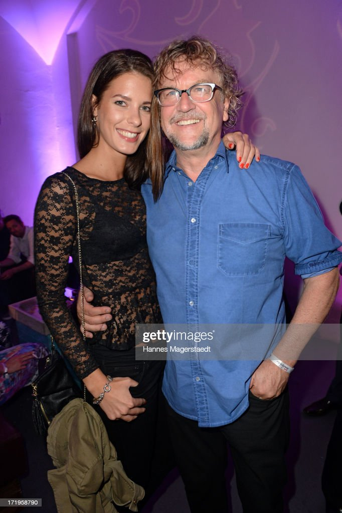 <a gi-track='captionPersonalityLinkClicked' href=/galleries/search?phrase=Martin+Krug&family=editorial&specificpeople=574482 ng-click='$event.stopPropagation()'>Martin Krug</a> and his girlfriend Julia Trainer attend the Audi Director's Cut during the Munich Film Festival 2013 on June 29, 2013 in Munich, Germany.