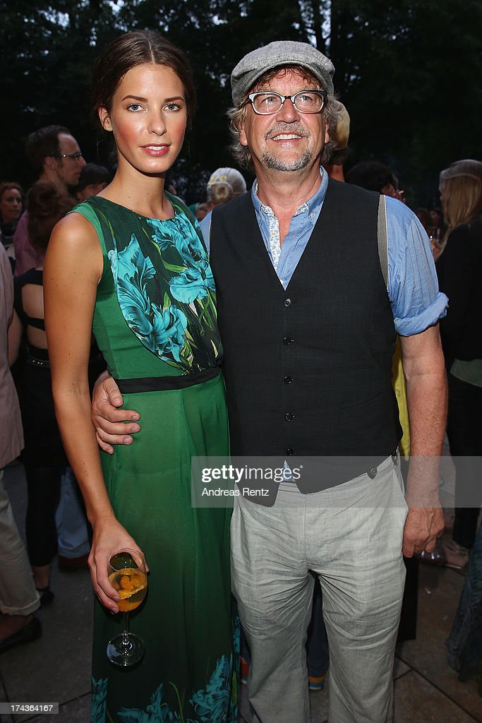 <a gi-track='captionPersonalityLinkClicked' href=/galleries/search?phrase=Martin+Krug&family=editorial&specificpeople=574482 ng-click='$event.stopPropagation()'>Martin Krug</a> and Julia Trainer attend the Marcel Ostertag fashion show at Charles Hotel on July 24, 2013 in Munich, Germany.