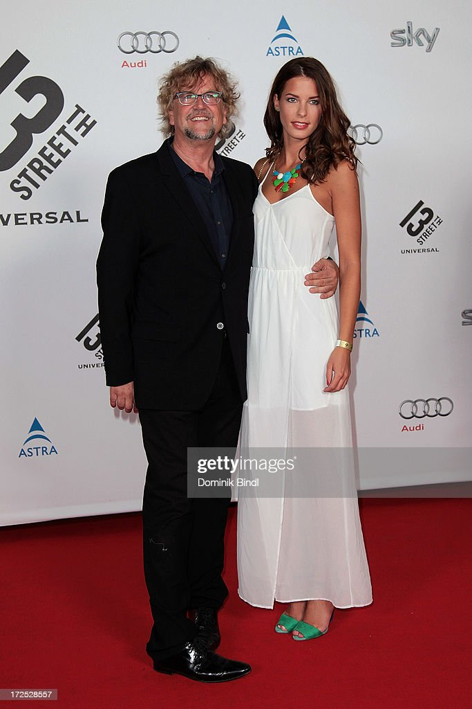 Martin Krug and Julia Trainer attend the Shocking Shorts Award at Galerie der Kuenstler on July 2, 2013 in Munich, Germany.