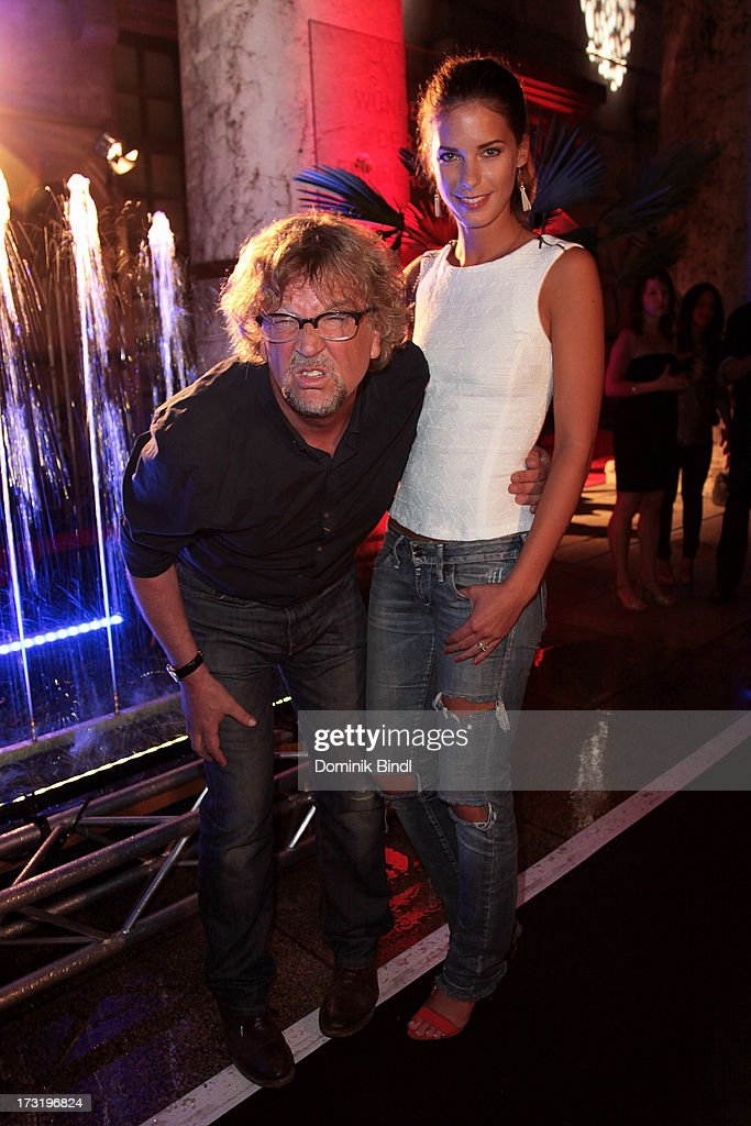 <a gi-track='captionPersonalityLinkClicked' href=/galleries/search?phrase=Martin+Krug&family=editorial&specificpeople=574482 ng-click='$event.stopPropagation()'>Martin Krug</a> and Julia Trainer attend the summer party at P1 on July 9, 2013 in Munich, Germany.