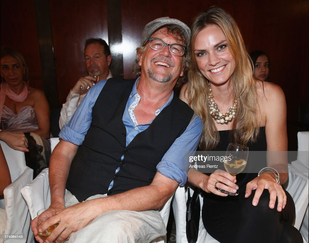 Martin Krug attends the Marcel Ostertag fashion show at Charles Hotel on July 24, 2013 in Munich, Germany.