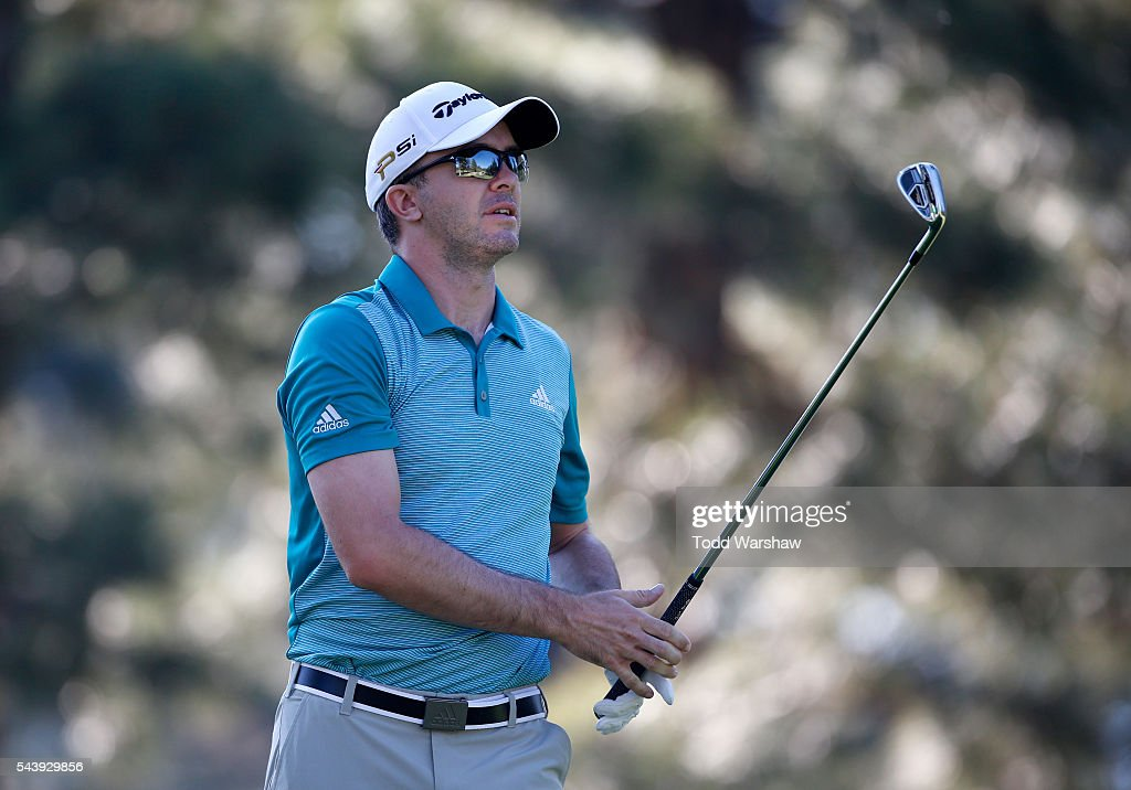 <a gi-track='captionPersonalityLinkClicked' href=/galleries/search?phrase=Martin+Laird&family=editorial&specificpeople=4333409 ng-click='$event.stopPropagation()'>Martin Laird</a> of Scotland plays his shot from the third tee during the first round of the Barracuda Championship at the Montreux Golf and Country Club on June 30, 2016 in Reno, Nevada.